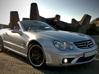 Rent A Mercedes Benz Sl65 Amg Luxury Car Rental